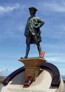 James Cook - one of the foremost figures of the Age of Exploration