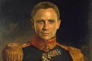 Craig as Russian General by Steve Payne