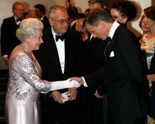 Craig and Queen Elizabeth II