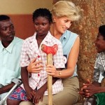 Diana helped poor people
