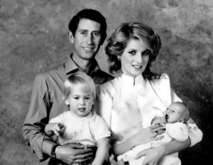 Diana, her husband and their children