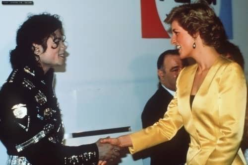 Diana and Michael Jackson