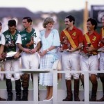 Princess Diana and Prince Charles after a polo competition in November 1985 in Palm Beach, Florida