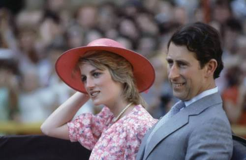 Prince Charles and Princess Diana during a tour in Sydney, 1983