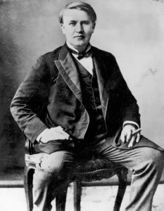 Edison - greatest geniuses of his age, 1890