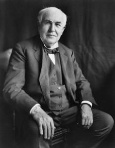 Edison in 1922