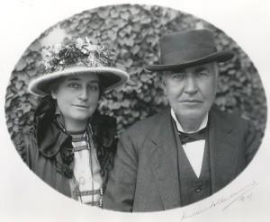 Mina, second wife of Edison