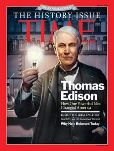 Edison, Time magazine 2010