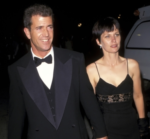 Mel and his first wife Robyn Moore