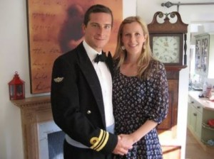 Grylls and his wife