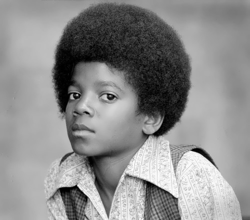 Jackson in his childhood