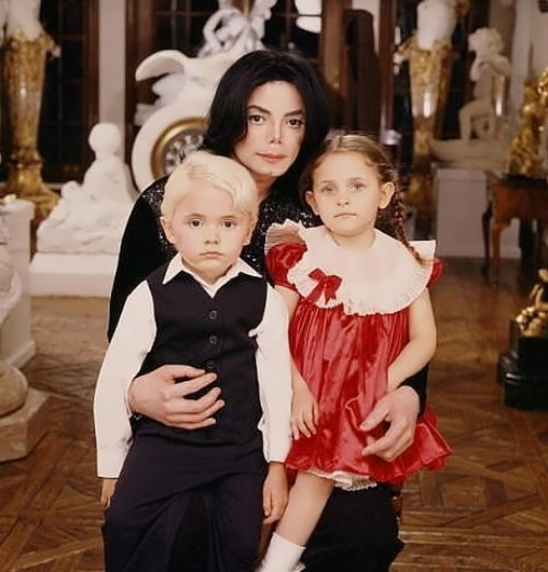 Jackson and his children