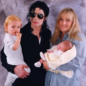 Jackson, his wife and their children