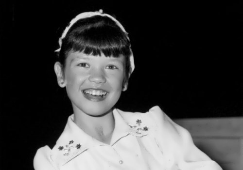 Catherine in her childhood