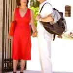 Catherine and Brad Pitt in the film Ocean's Twelve, 2004