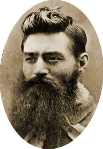 Ned Kelly on the eve of the execution; In 1880, he was only 25 years old
