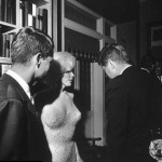 Marilyn Monroe, John and Robert Kennedy