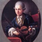 Giambettino Cignaroli, Mozart, 1760