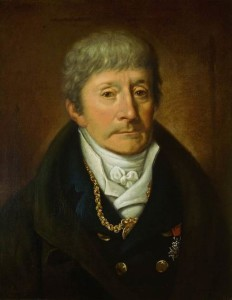 Josef Muller. Lifetime portrait of Antonio Salieri