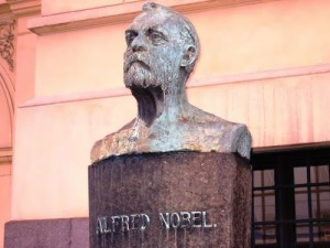 Bust of Nobel