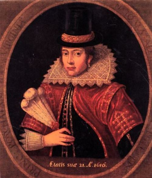 Portrait of Pocahontas