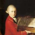 Saverio dalla Rosa. The fourteen-year-old Mozart plays the harpsichord in Verona, 1770