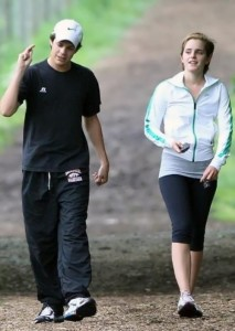 Emma and Johnny Simmons, 2011