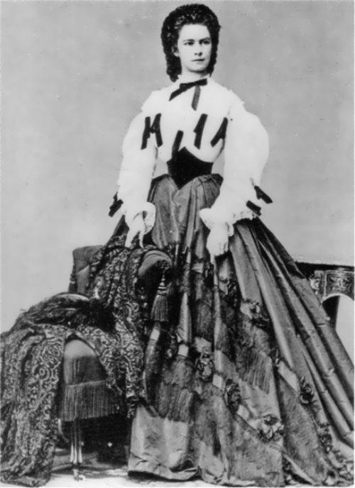 Sissi in 1865