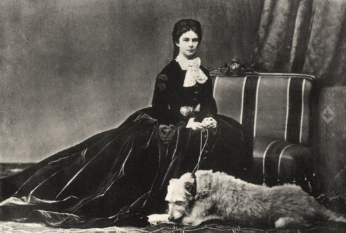 Sissi and her dog