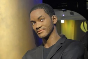 Wax figure of Will Smith in Madame Tussauds museum