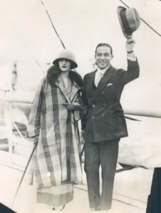 Valentino and Natacha Rambova