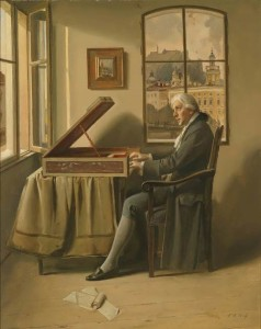 Franz Xaver Wolf. Portrait of Mozart