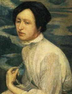 Portrait of Angelina Belova by Diego Rivera