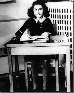 Anne Frank - little Jewish girl