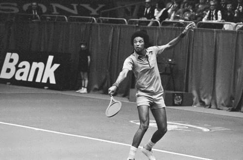 Ashe - American tennis player