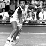 Ashe - one of the world's first African American tennis stars
