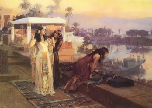 F. Bridgeman. Cleopatra, 1896