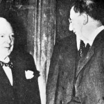 Churchill and De Valera, 1953