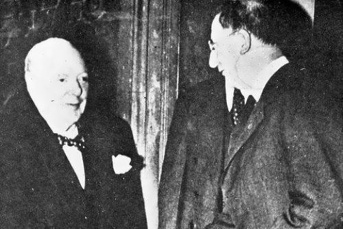 Churchill and De Valera, 1953