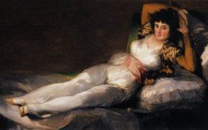 Clothed Maja, 1798 - 1805, Prado, Madrid