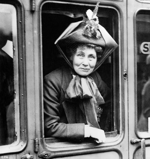 Pankhurst - fighter for the rights of women