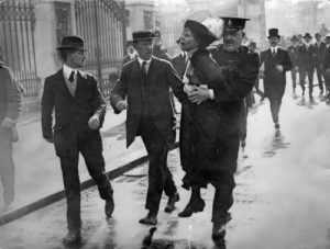 Pankhurst played an important role in the struggle for women's suffrage