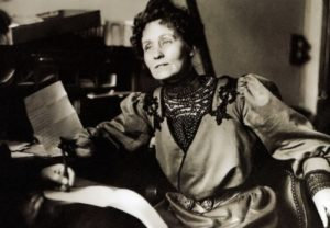 Pankhurst - British social and political activist