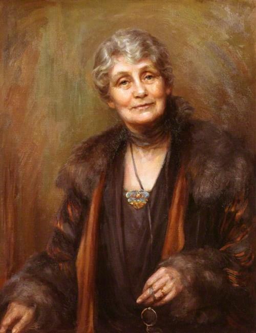 Portrait of Pankhurst