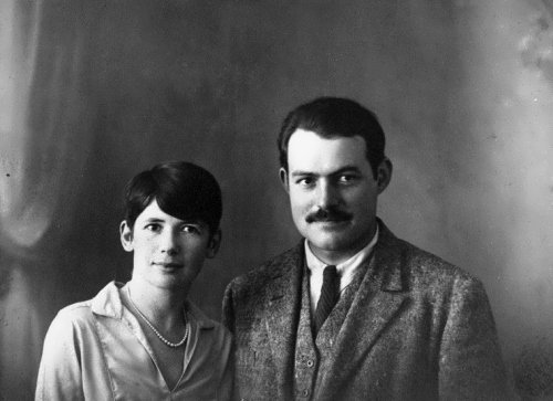 Ernest and Pauline, Paris, 1927