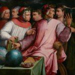Giorgio Vasari. Portrait of Six Tuscan Poets