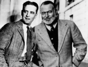 Hemingway and F. Scott Fitzgerald