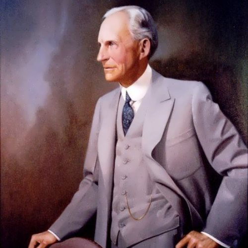 Portrait of Henry Ford