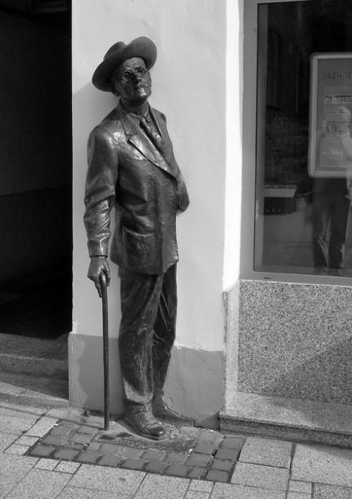 Statue of Joyce, Szombathely