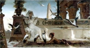 V.A. Kotarbinsky. Cleopatra